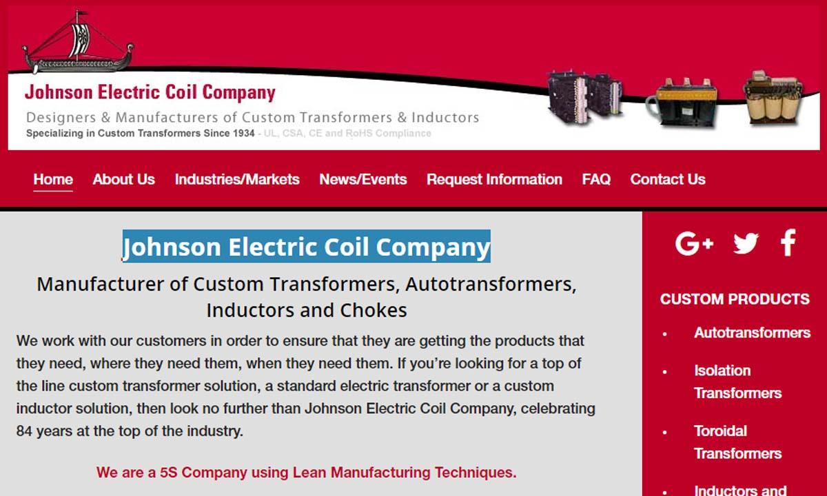 Johnson Electric Coil Company