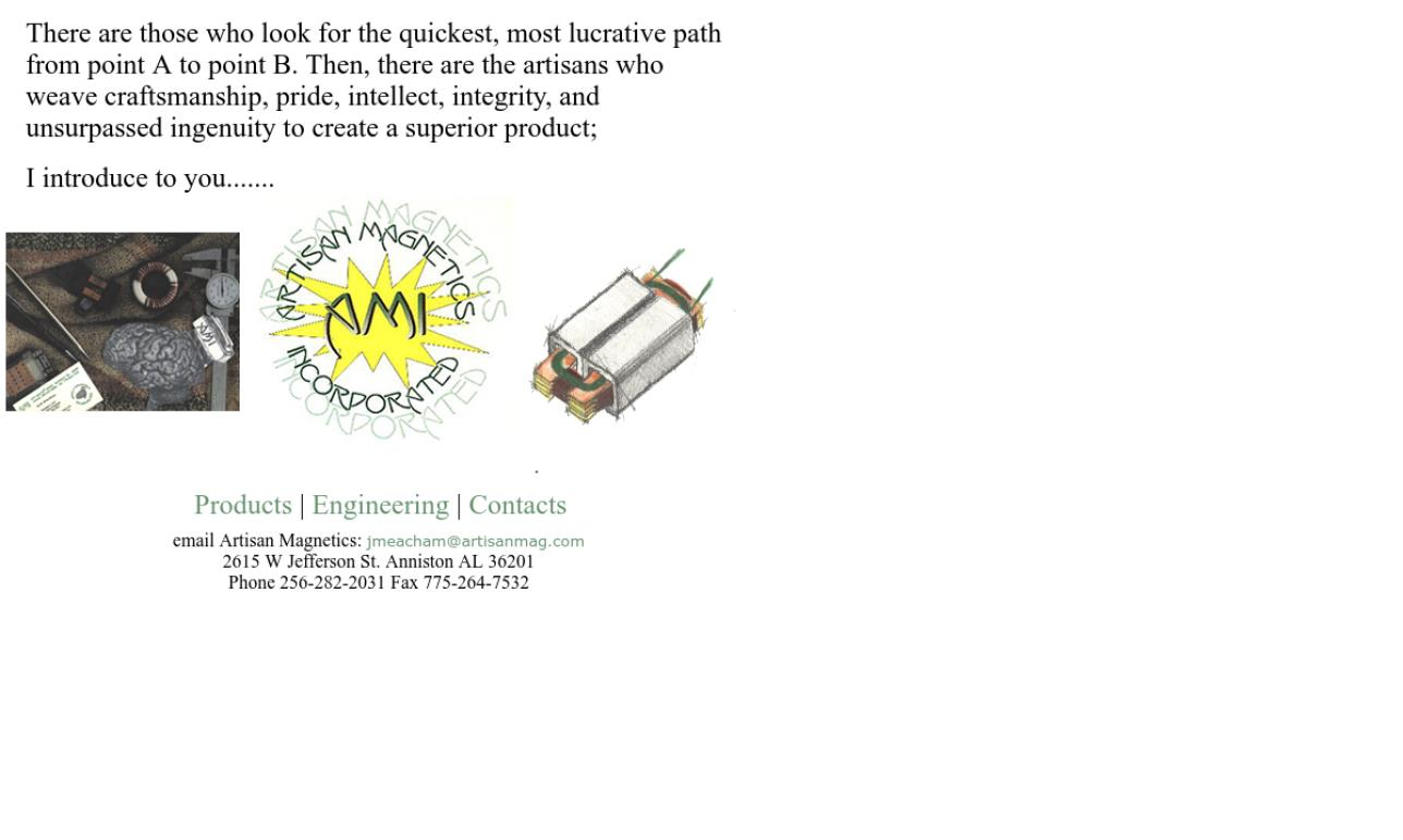 Artisan Magnetics, Inc.