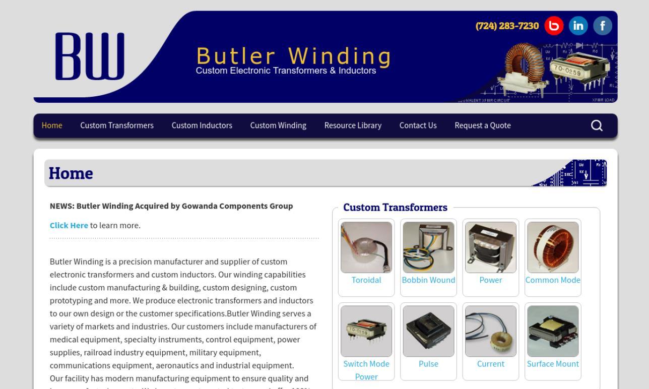 Butler Winding