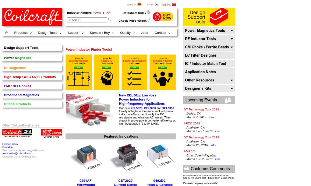 Coilcraft, Inc.