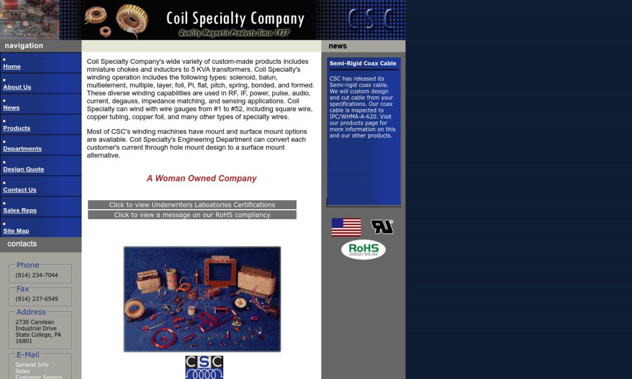 Coil Specialty Company, Inc.