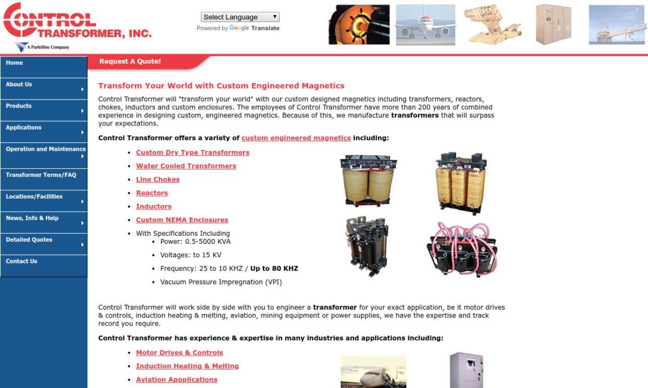 Control Transformer, Inc.