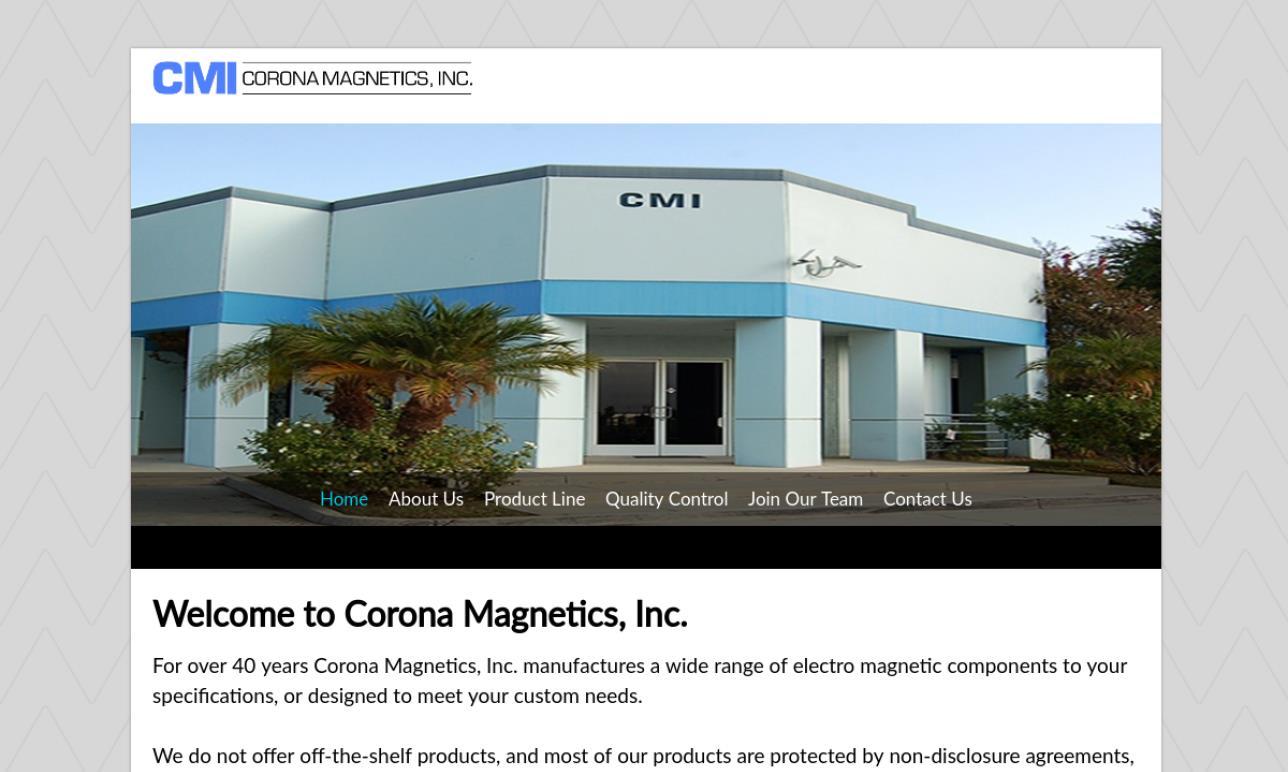Corona Magnetics, Inc. (CMI)