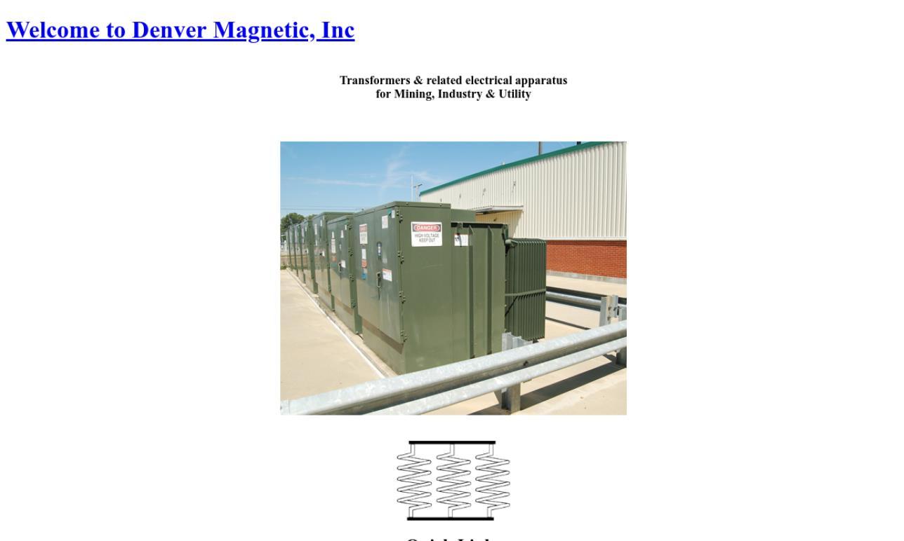 Denver Magnetic, Inc.