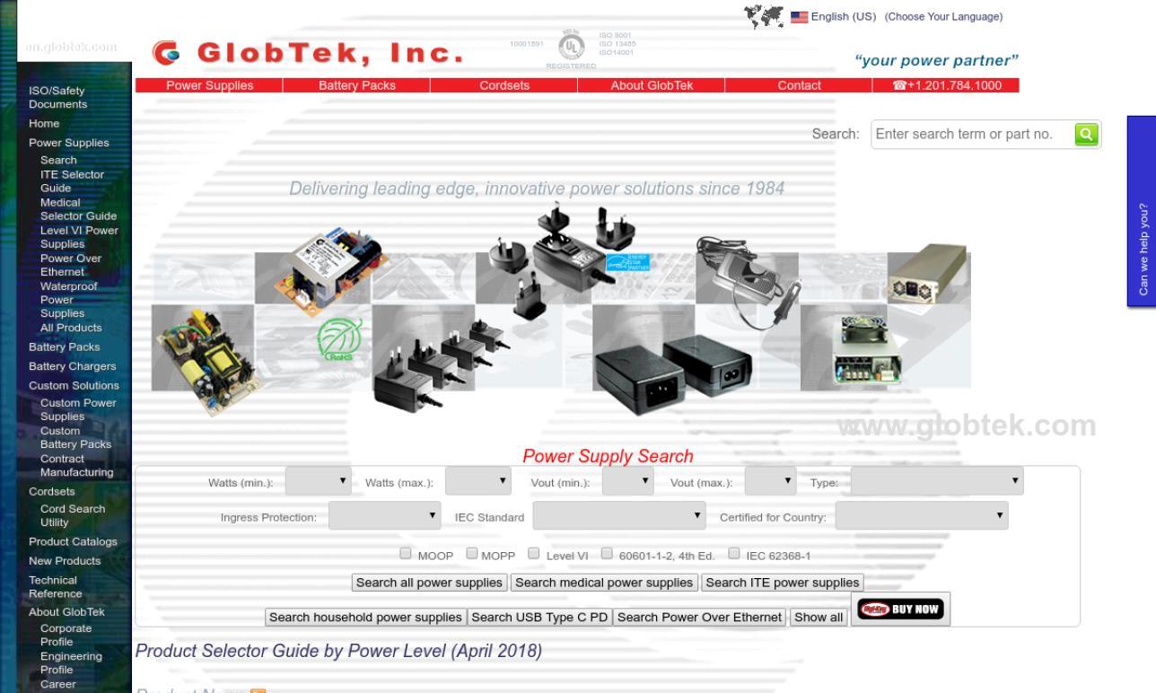 GlobTek, Inc.