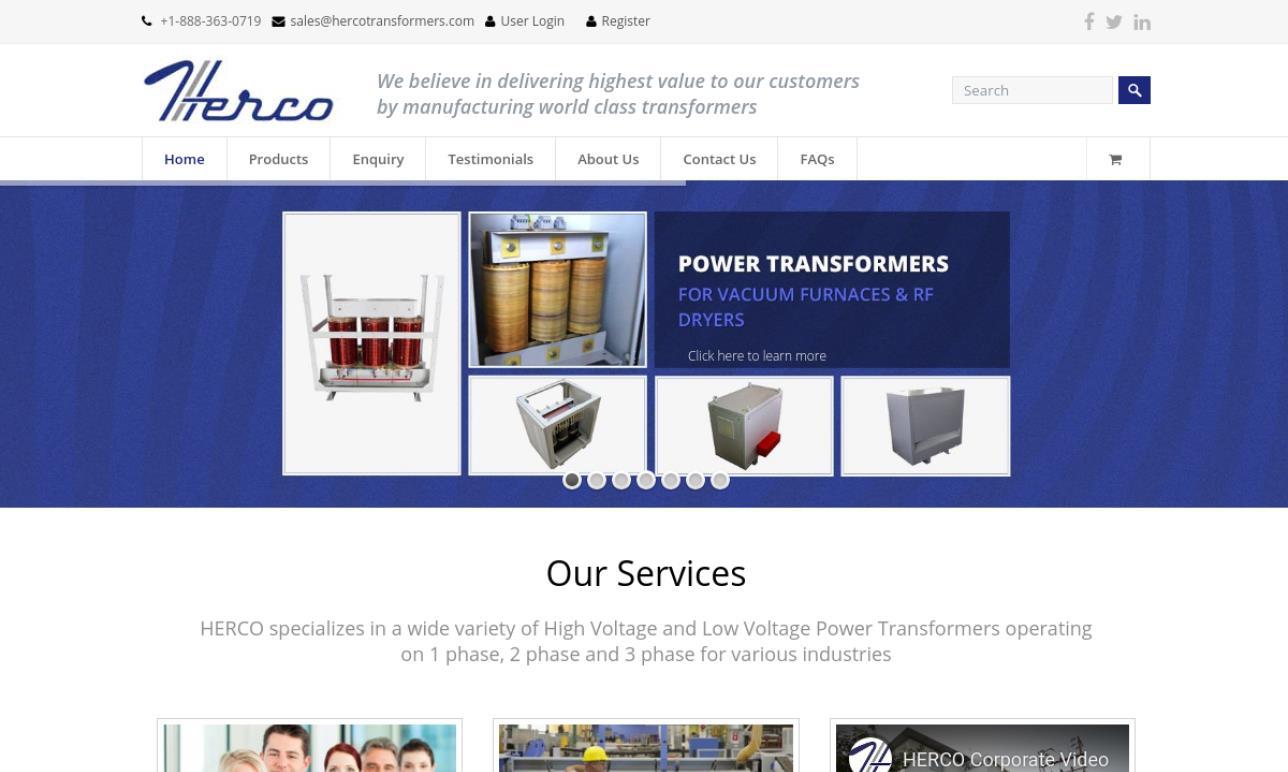 HERCO Transformers Inc