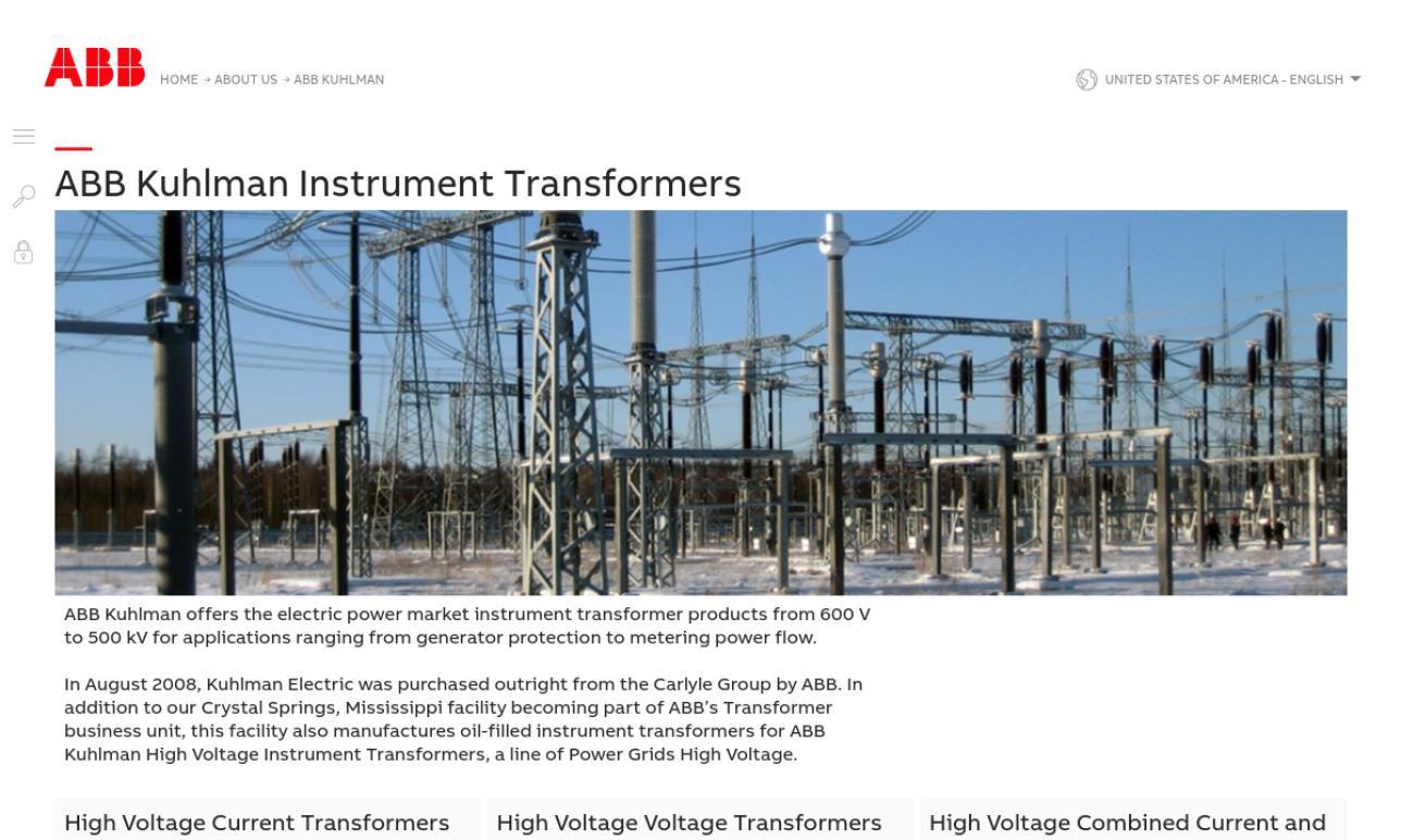 Kuhlman Electric Corporation