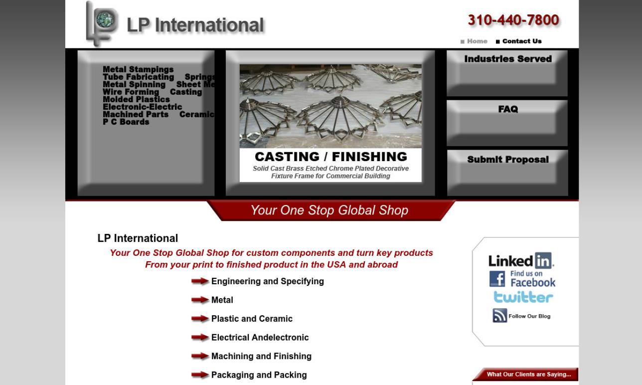 LP International, Inc.