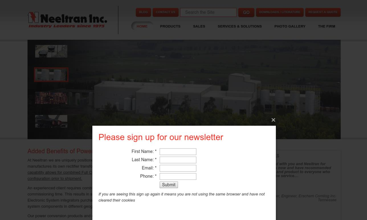 Neeltran Inc.®