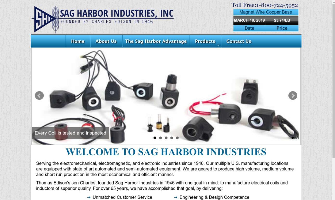 Sag Harbor Industries, Inc.