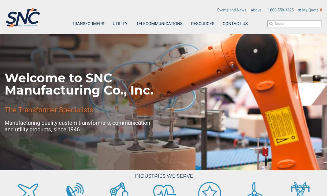 SNC Manufacturing Company, Inc.