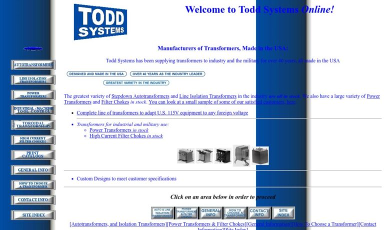 Todd Systems, Inc.