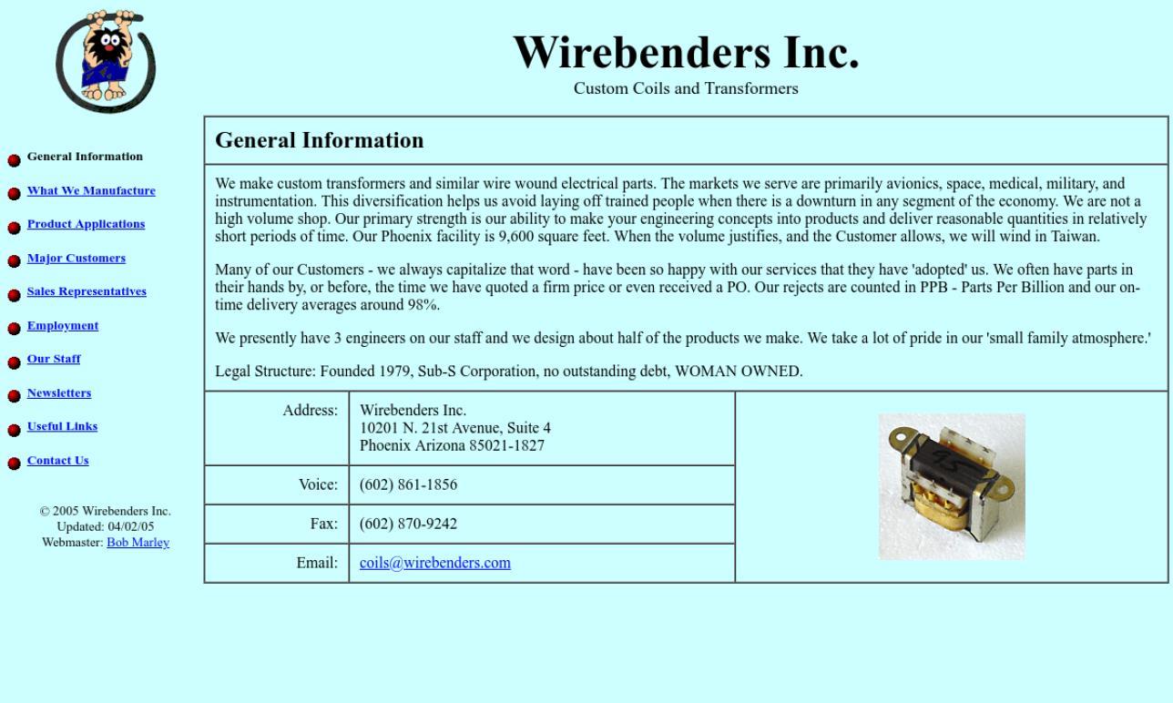 Wirebenders Inc.