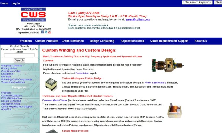 Coil Winding Specialist, Inc.