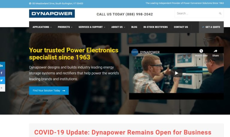 Dynapower Corp.
