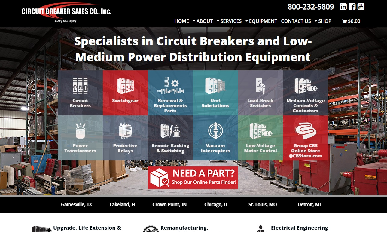 Circuit Breaker Sales Company, Inc